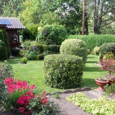 Prämierter Garten