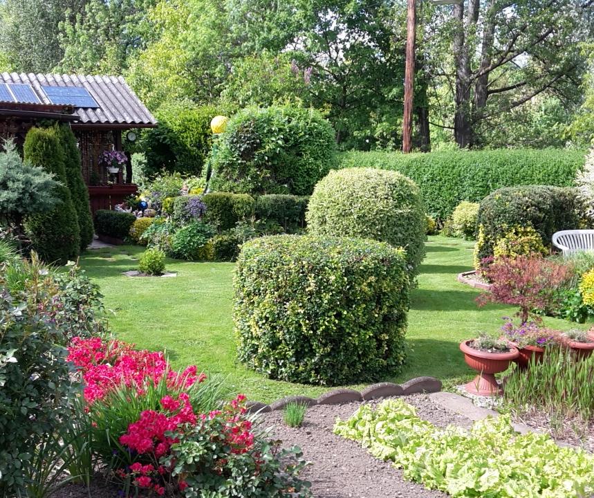 Foto Heimgartenverein: Prämierter Garten